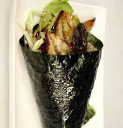 Eel Cucumber Hand Roll